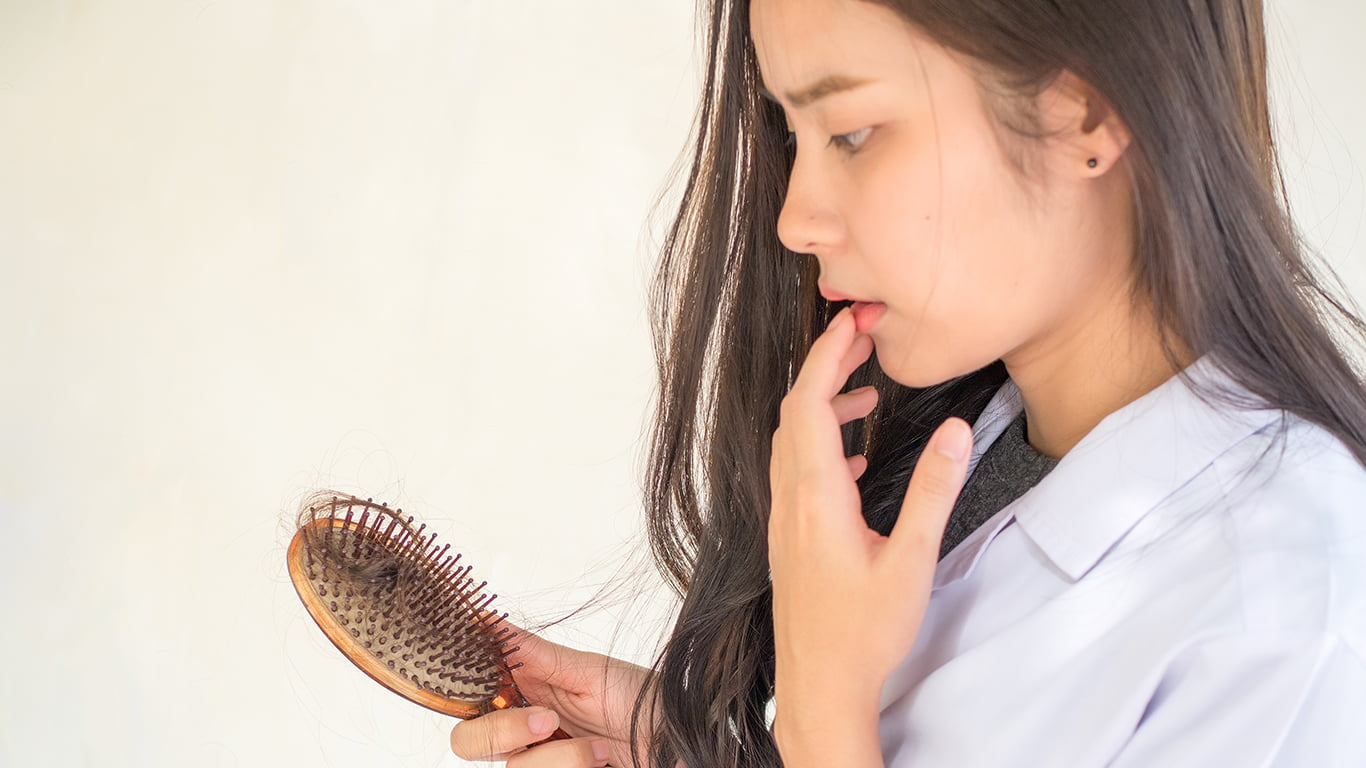 Is it common for women to experience hair loss?